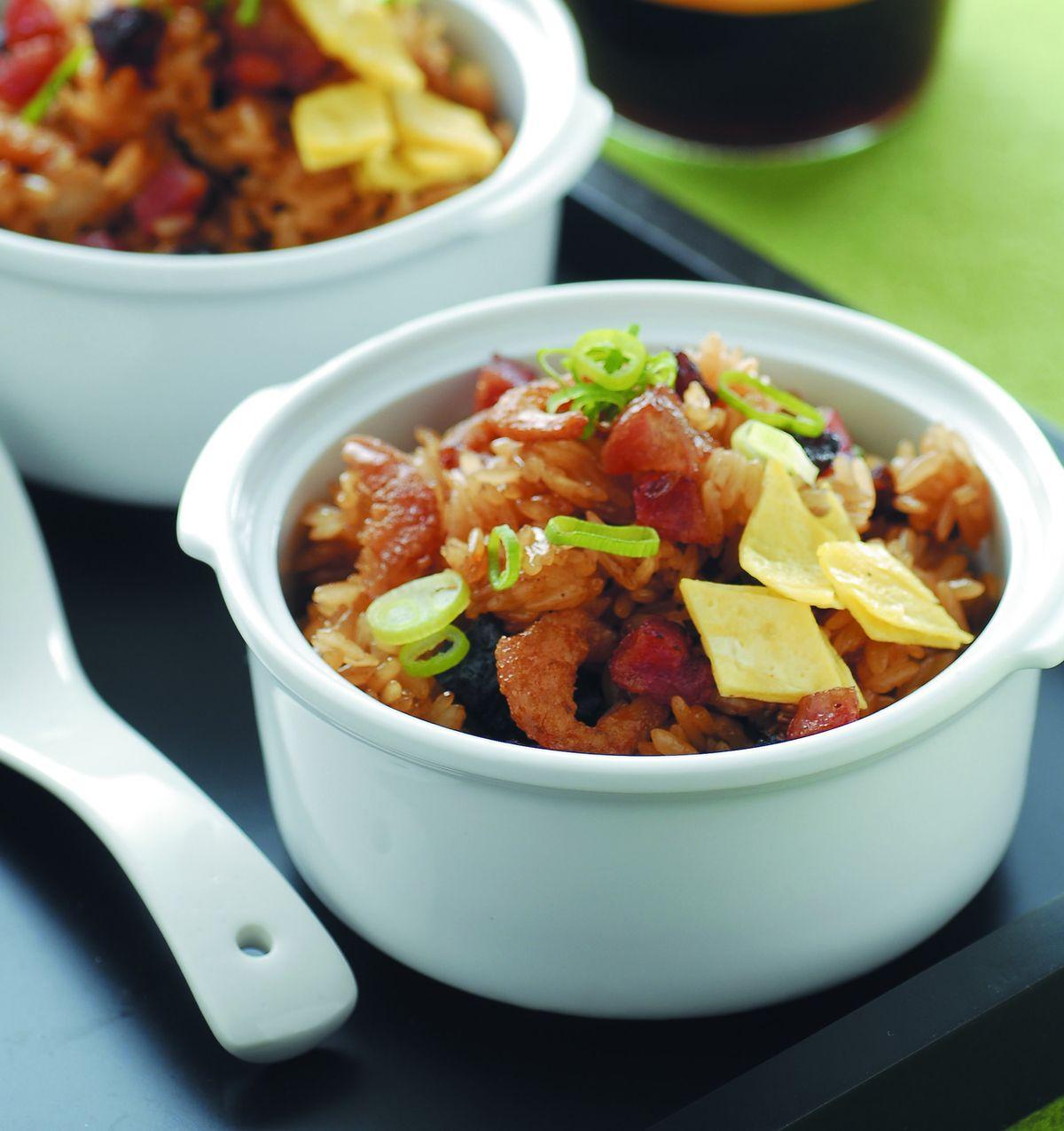 食譜:腊味糯米飯