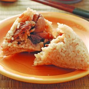 香辣海鮮粽