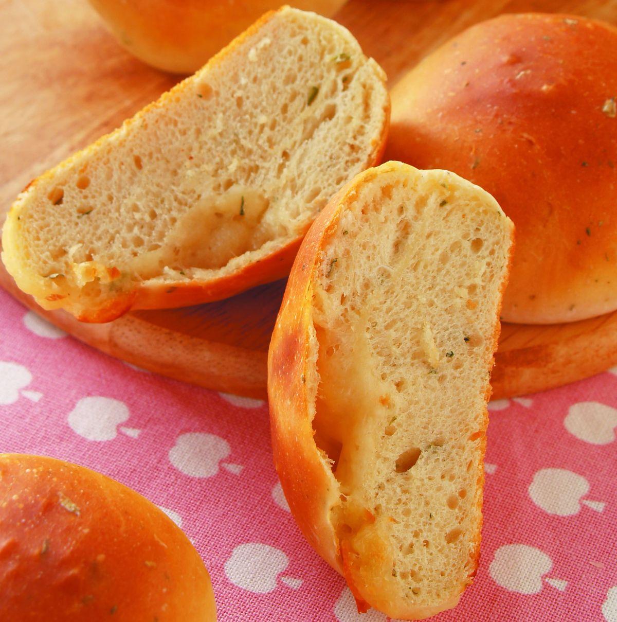 食譜:香草起司小圓麵包