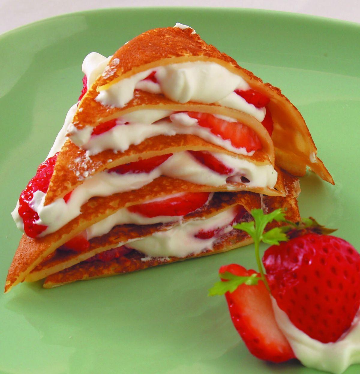 食譜:草莓班尼頓