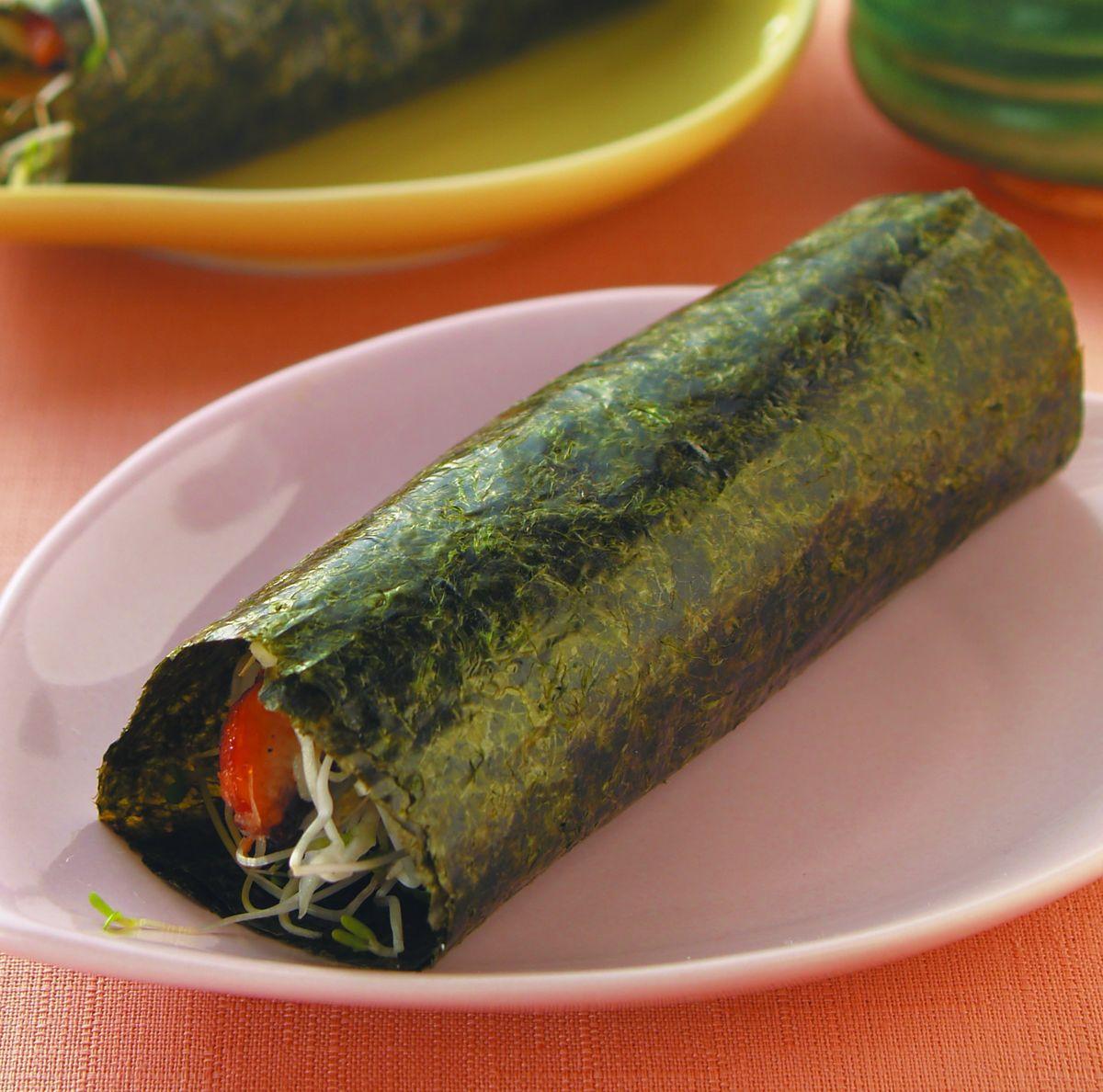 食譜:鰻魚手卷