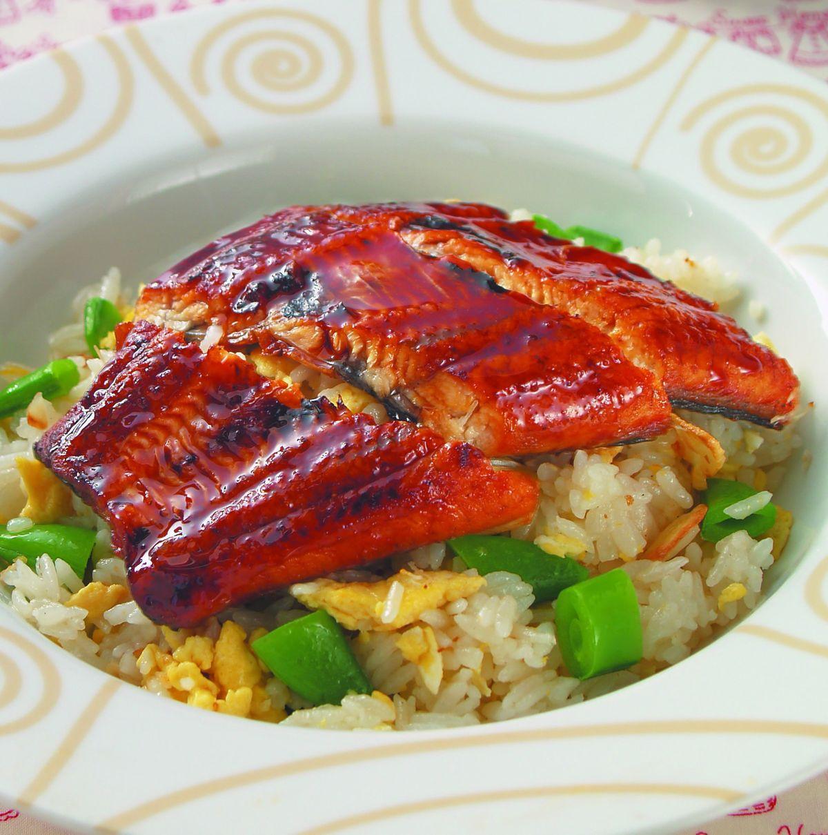 食譜:鰻魚炒飯
