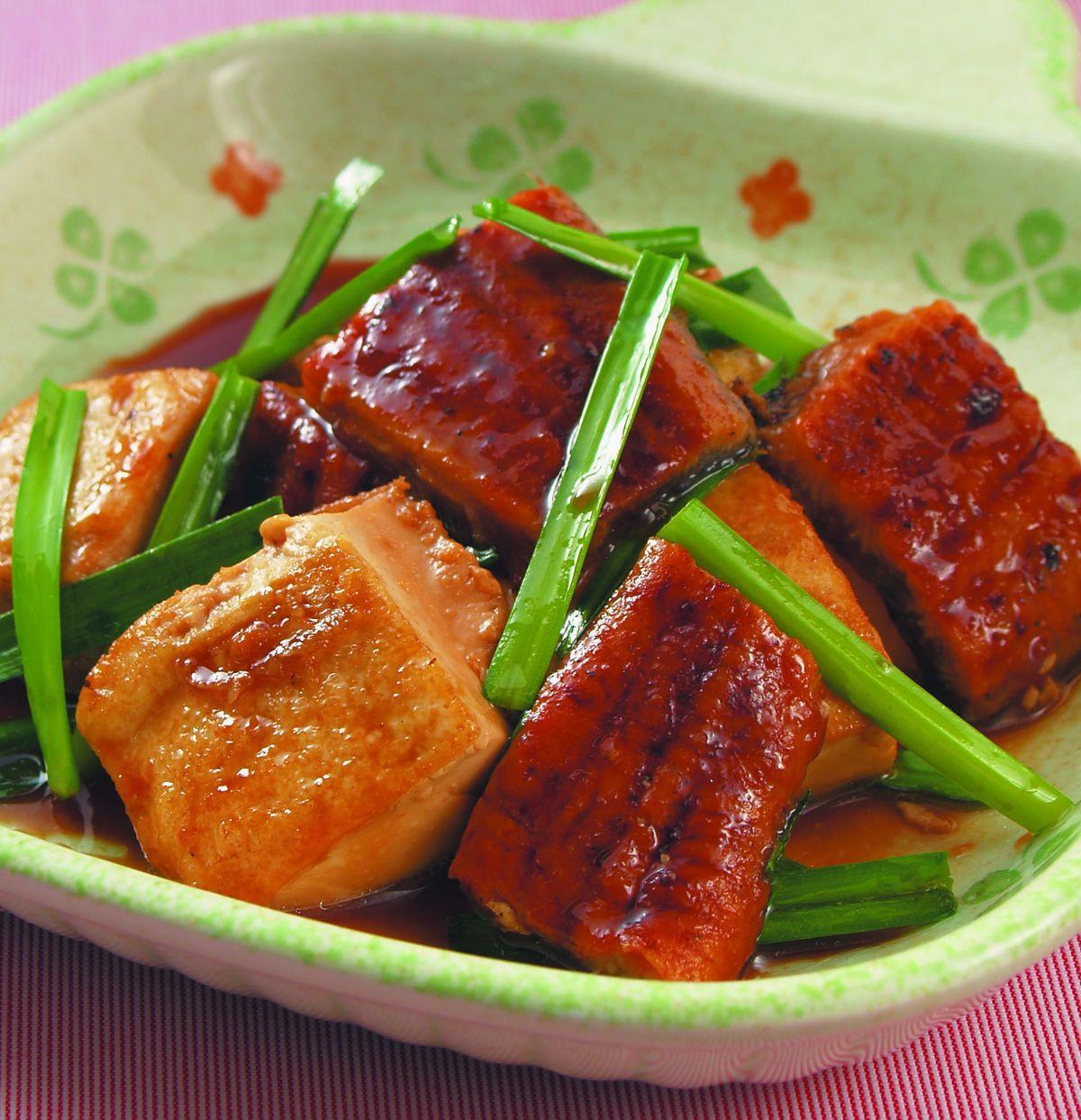 食譜:紅燒鰻豆腐