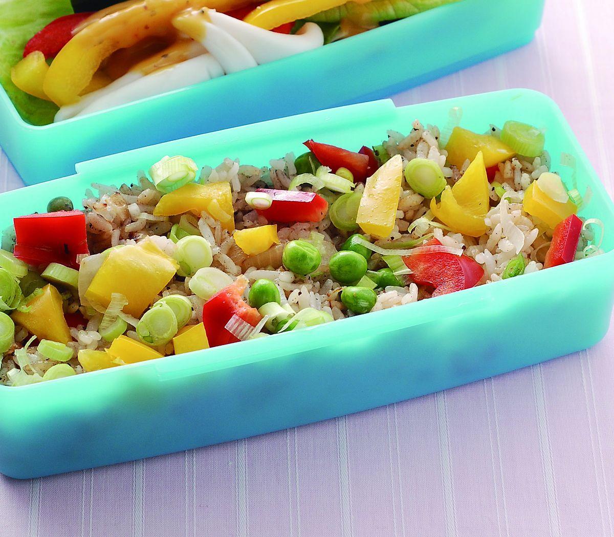 食譜:蔥香蔬食炒飯