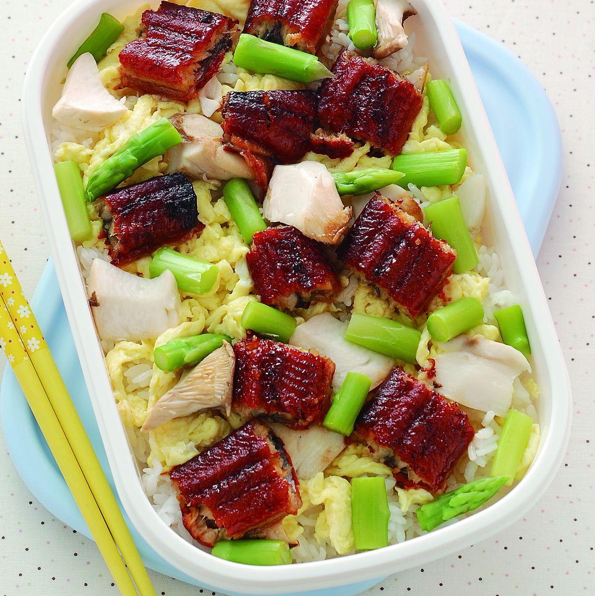 食譜:鰻魚散壽司