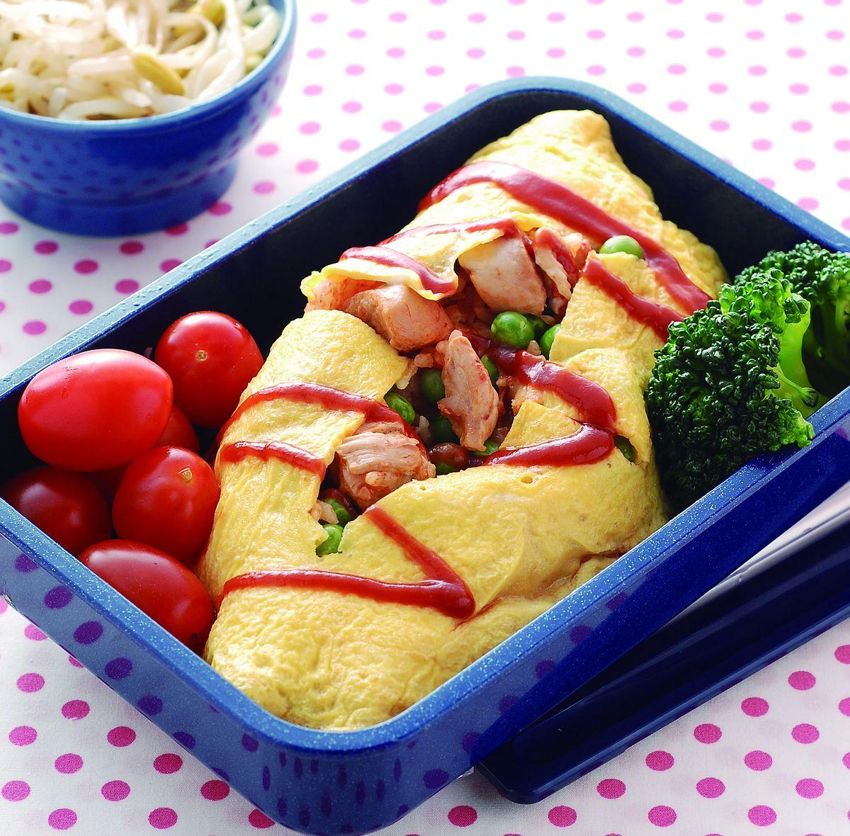 食譜:雞肉茄汁蛋包飯