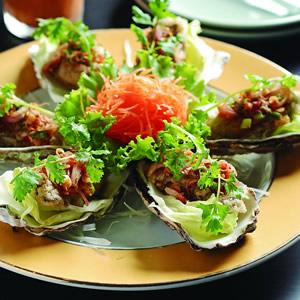 酸辣炸牡蠣
