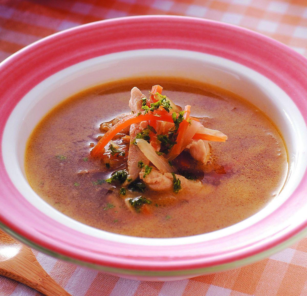 食譜:雞肉蔬菜清湯
