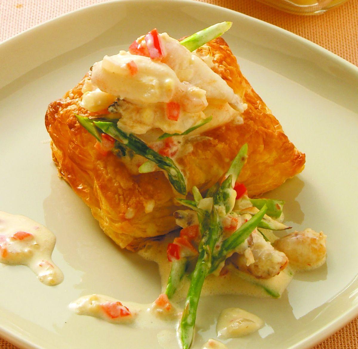 食譜:蟹肉奶油酥盒