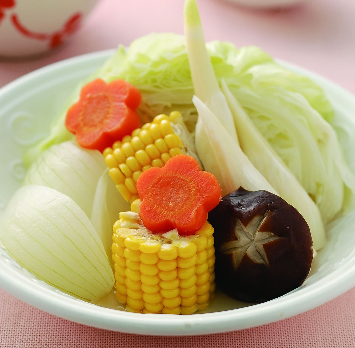 食譜:清蒸時蔬(1)