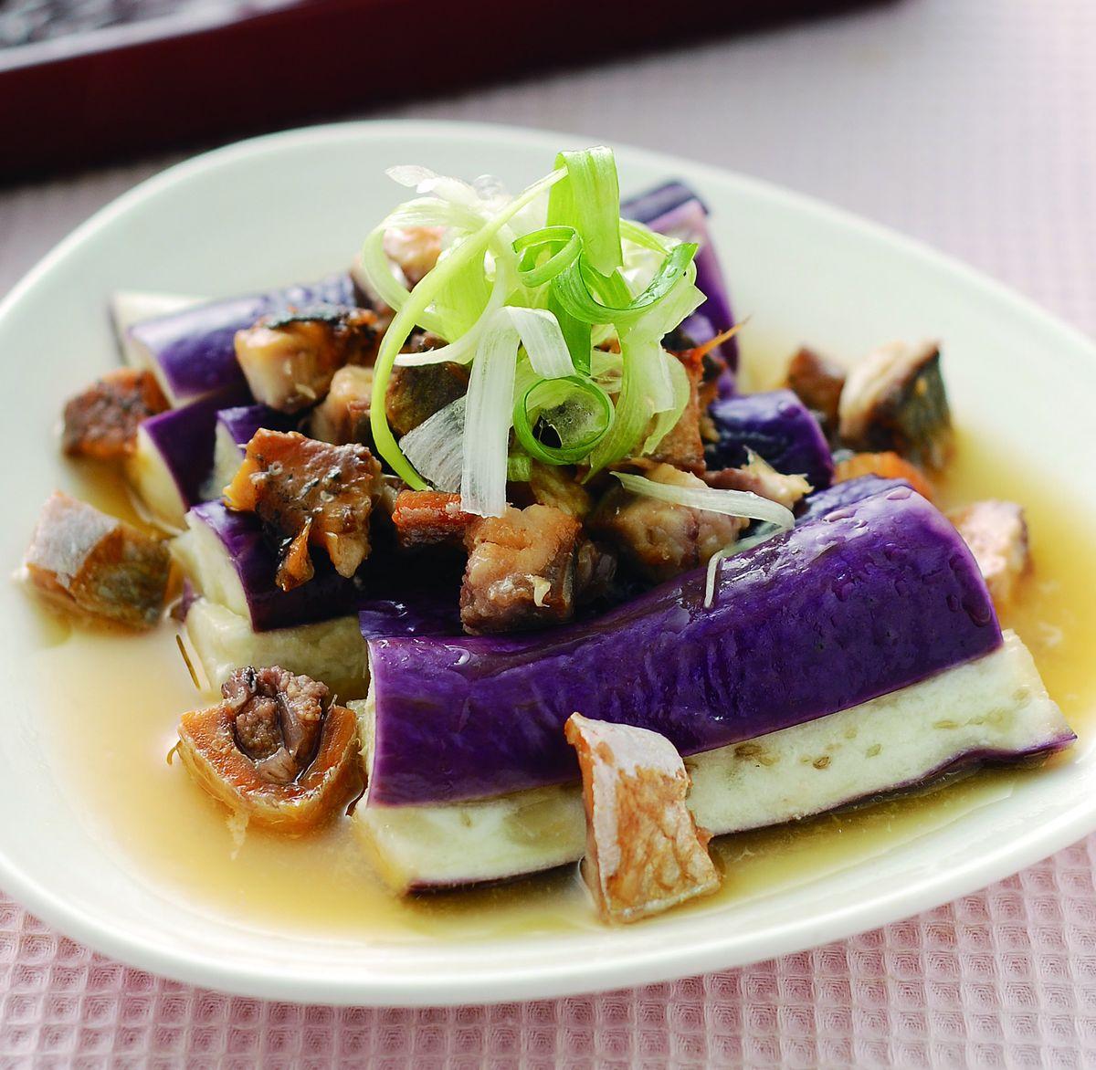 食譜:茄香鹹魚