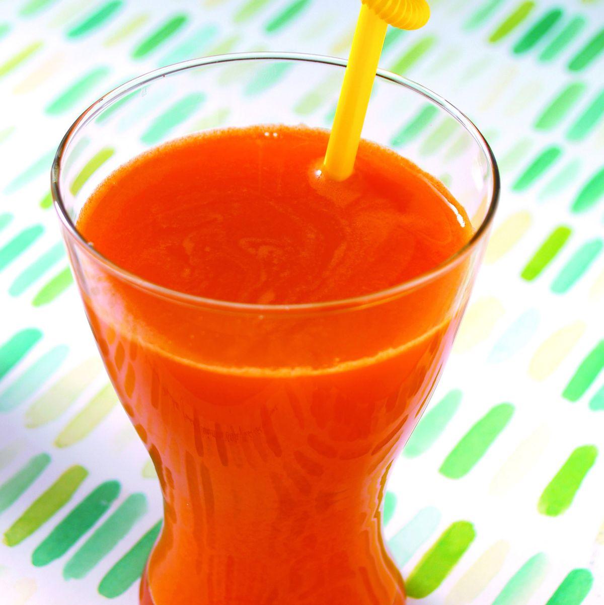 食譜:紅蘿蔔蘋果汁