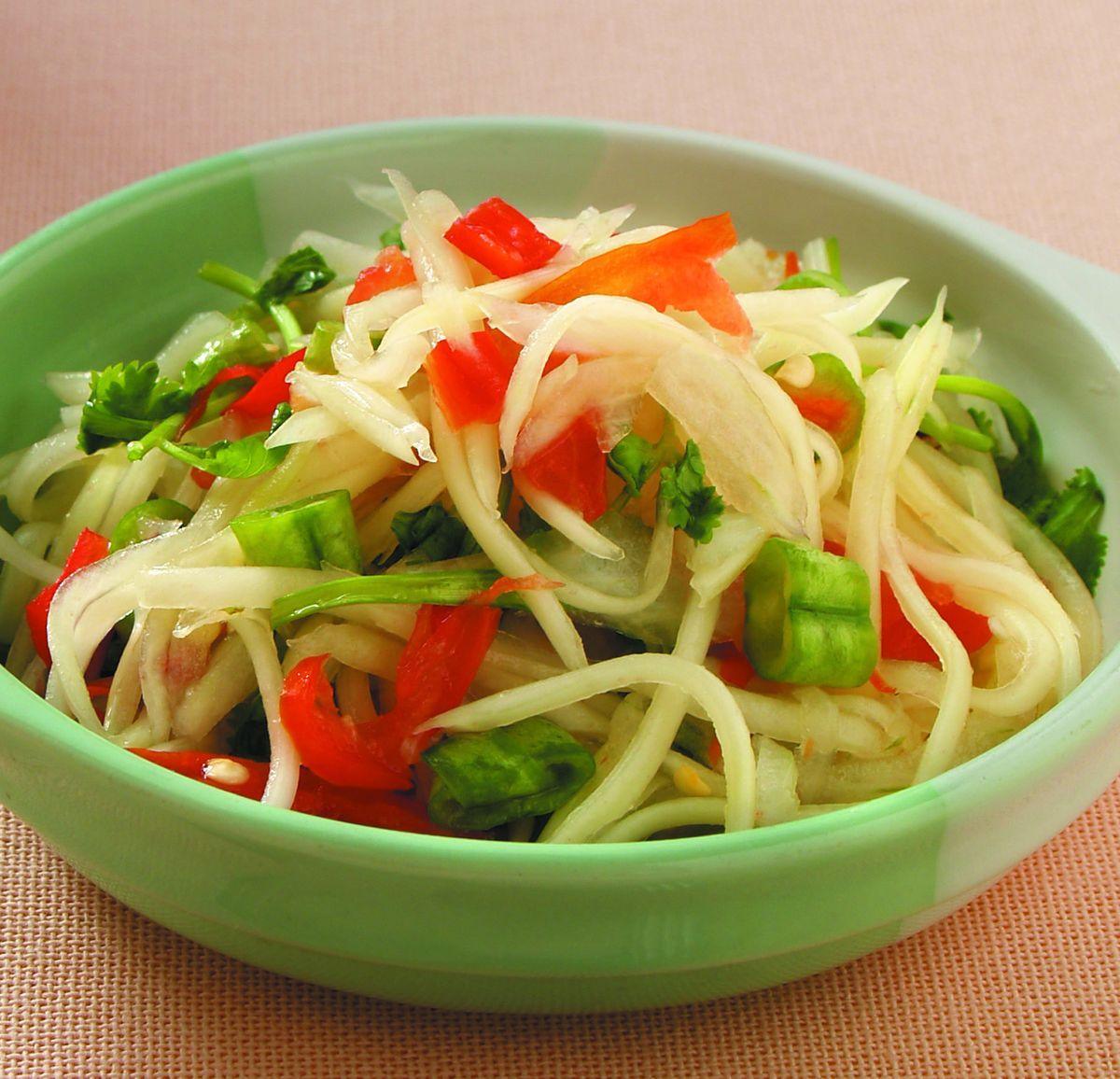 食譜:涼拌青木瓜絲(3)