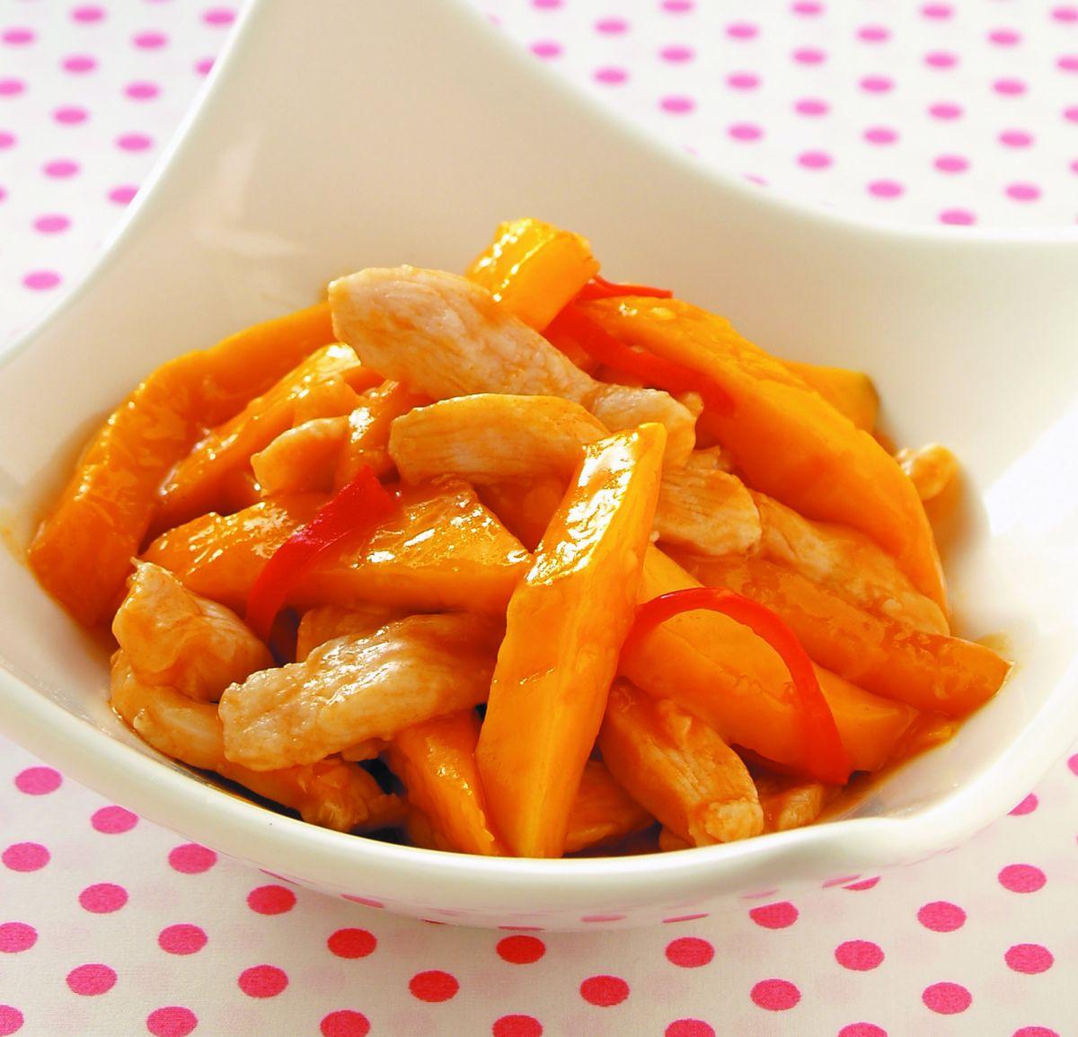 食譜:芒果雞柳(1)