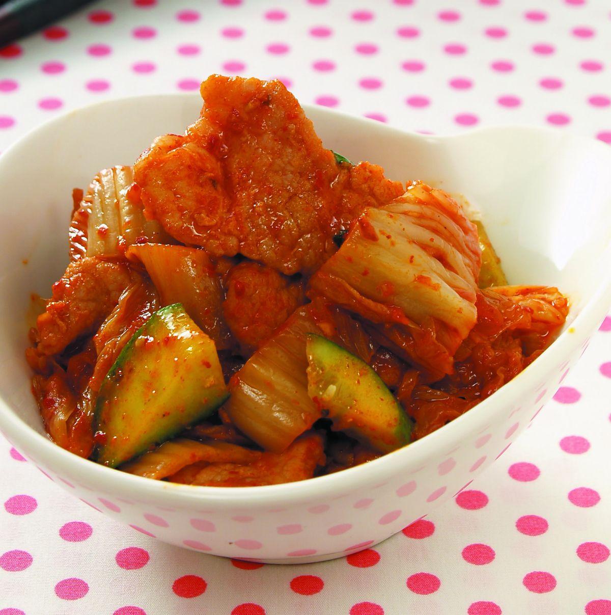 食譜:泡菜炒肉片(8)
