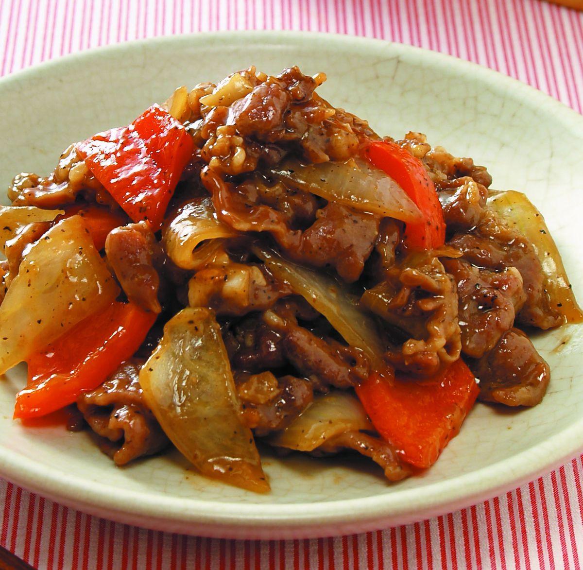 食譜:黑椒牛肉片