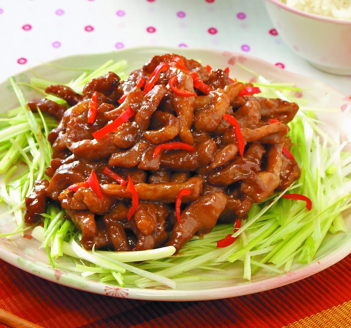 食譜:京醬肉絲(10)