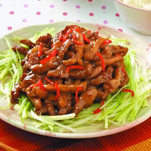 京醬肉絲(10)