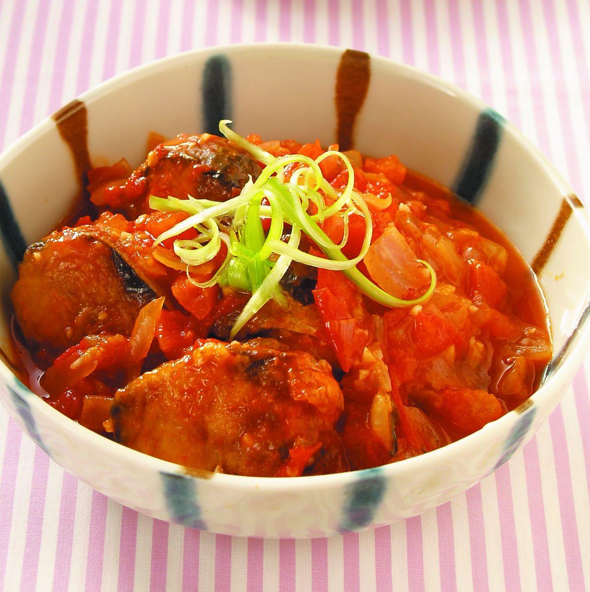 食譜:茄汁鯖魚