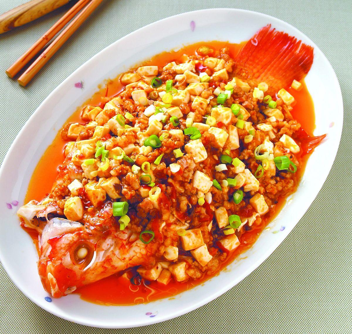 食譜:豆瓣魚(4)