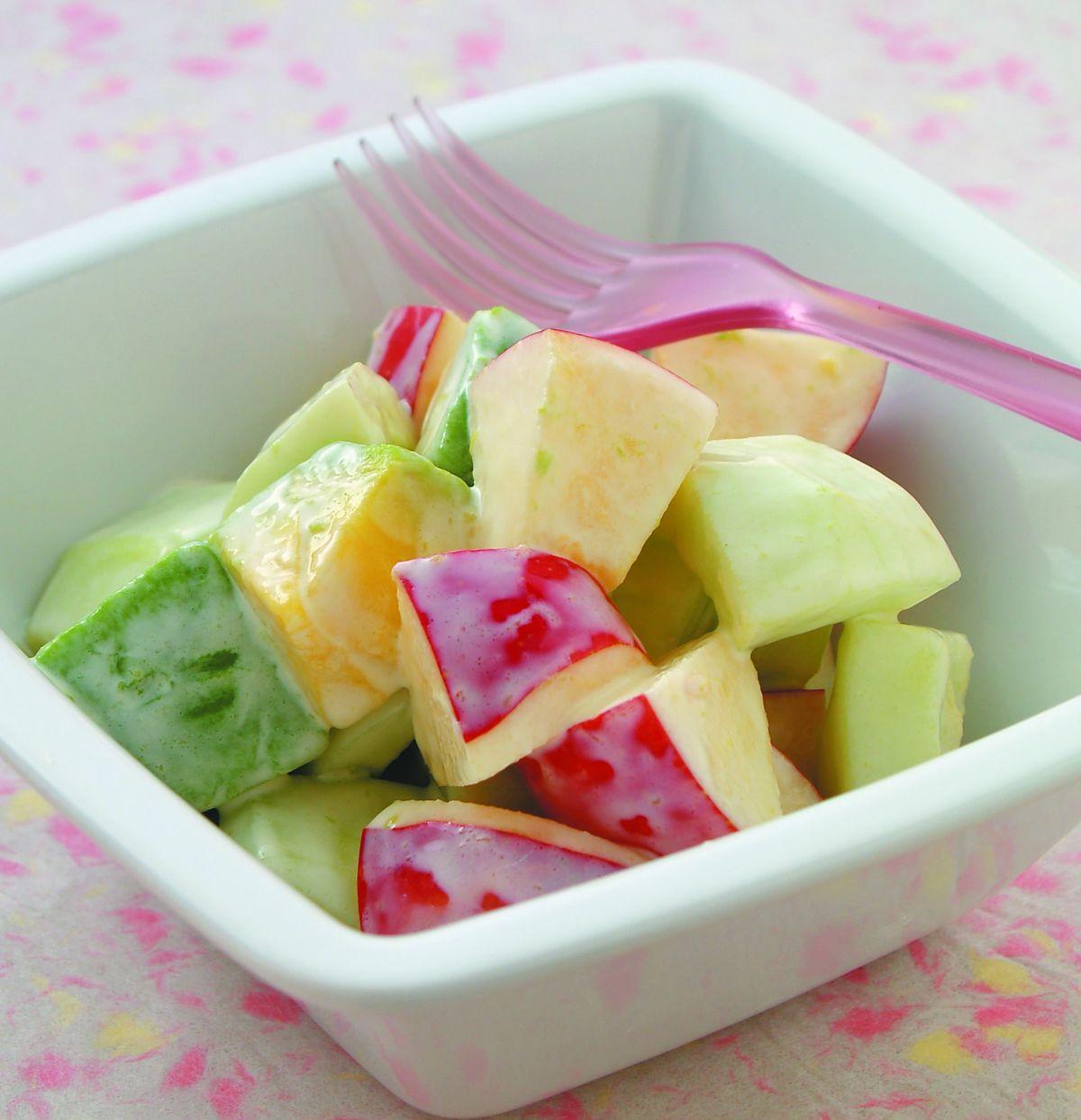 食譜:酪梨蘋果沙拉