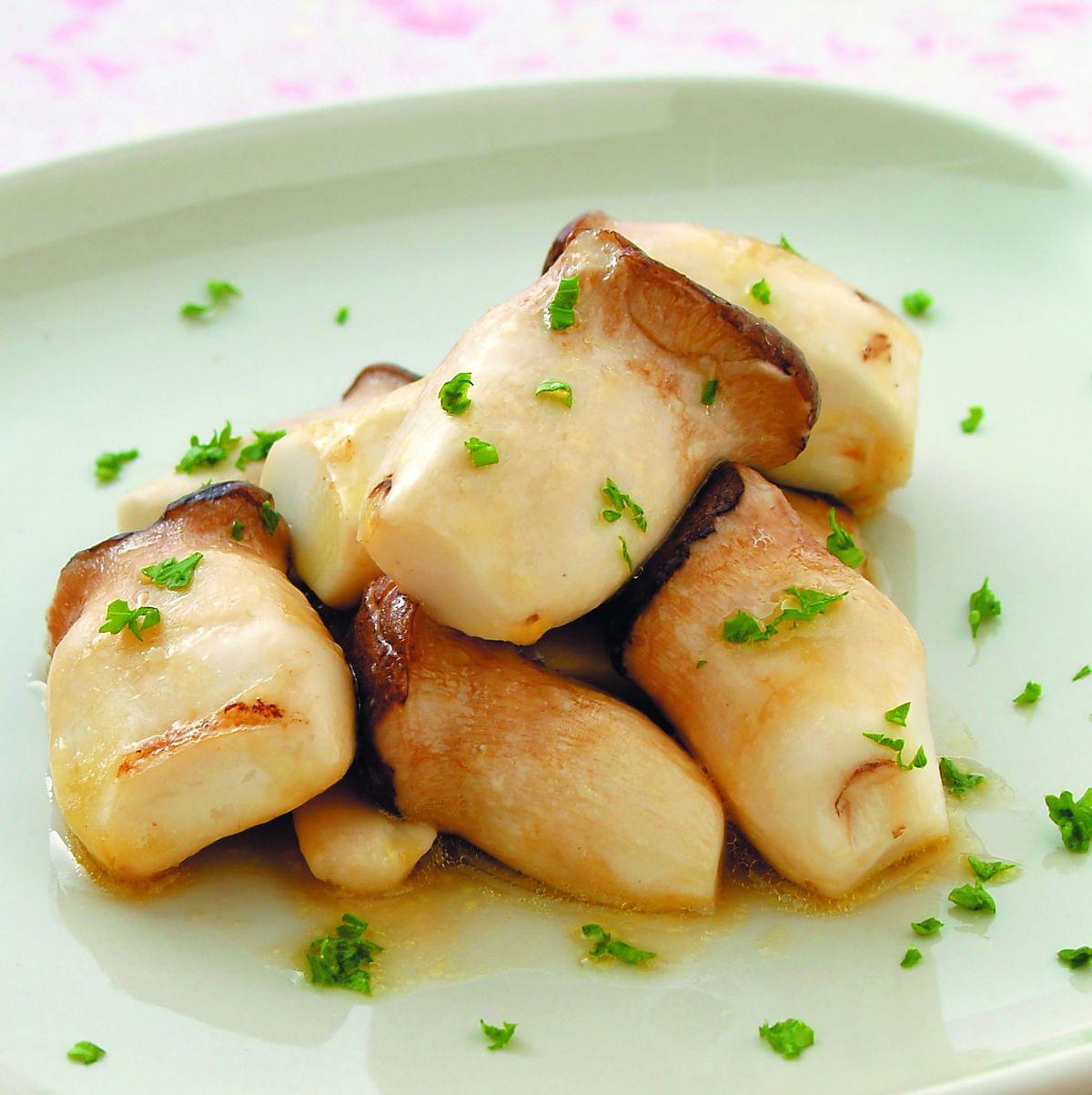 食譜:奶油煎杏鮑菇