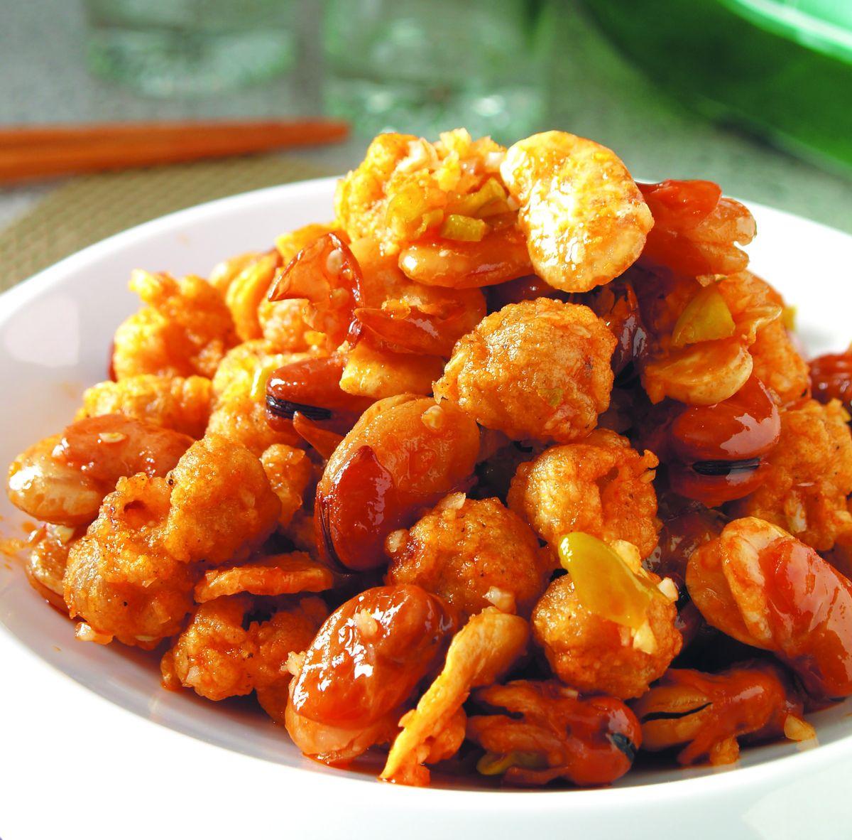 食譜:辣拌龍珠