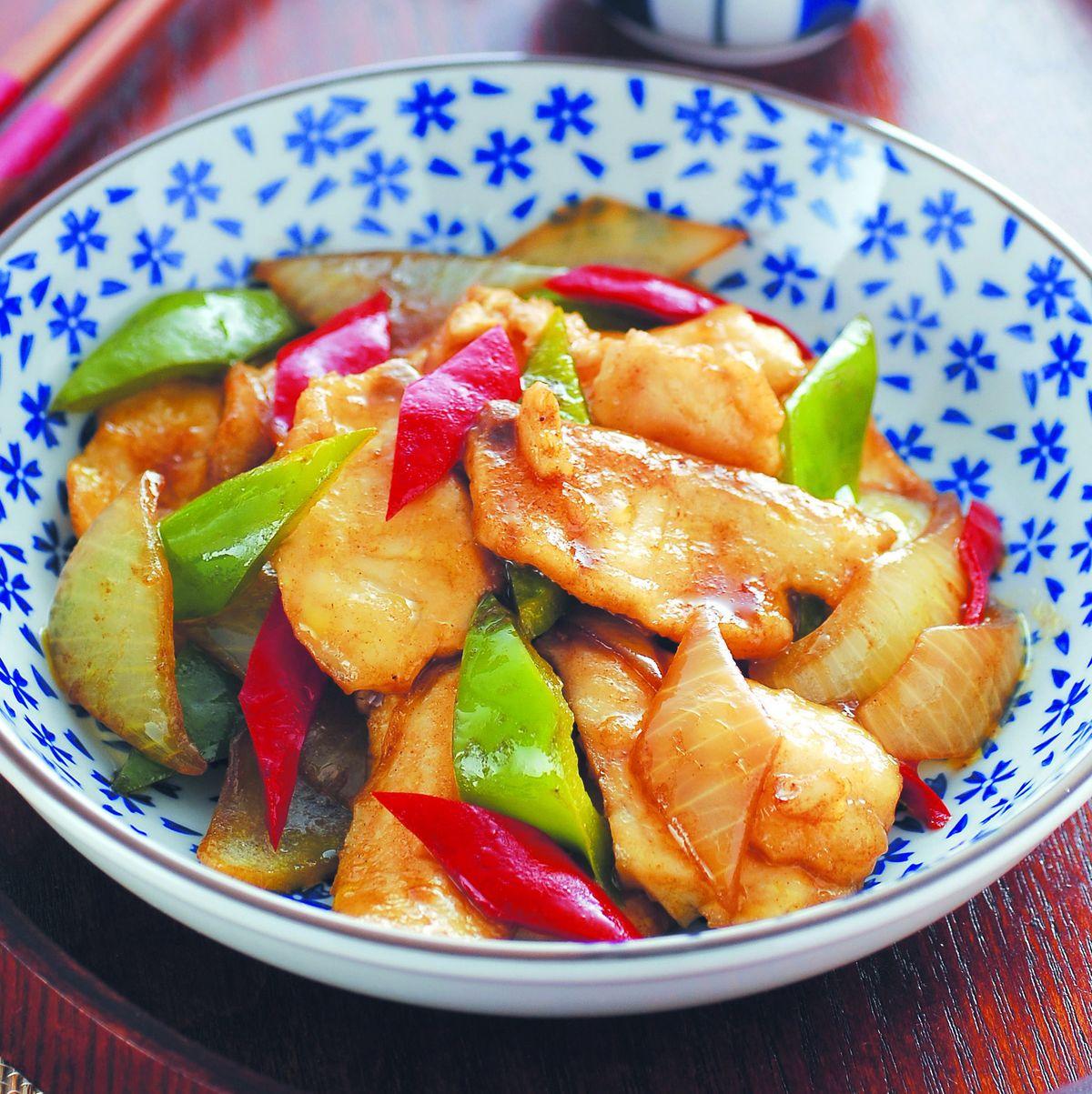 食譜:咖哩魚片(1)