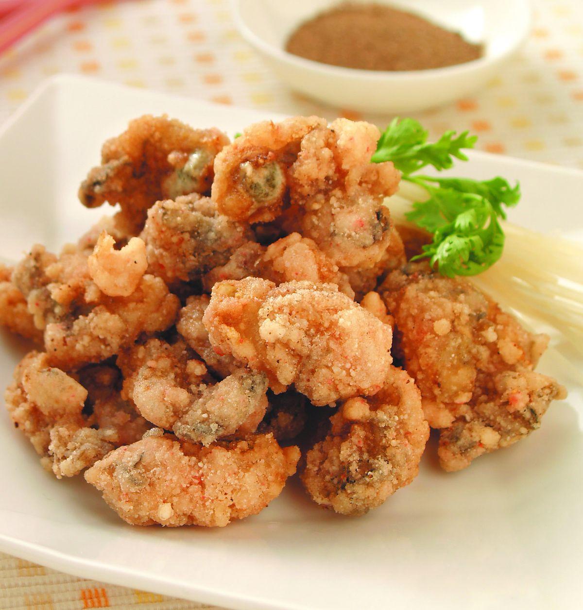 食譜:酥炸鮮蚵(1)