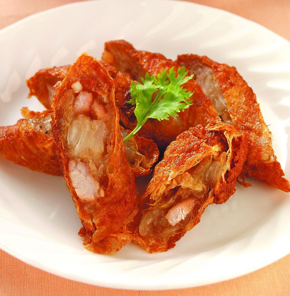 食譜:五香雞捲(1)