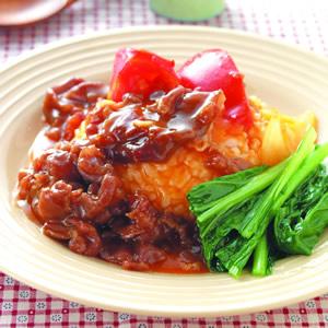 蕃茄洋蔥牛燴飯