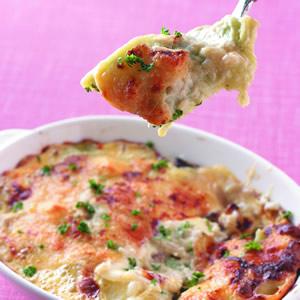 焗烤海鮮千層麵