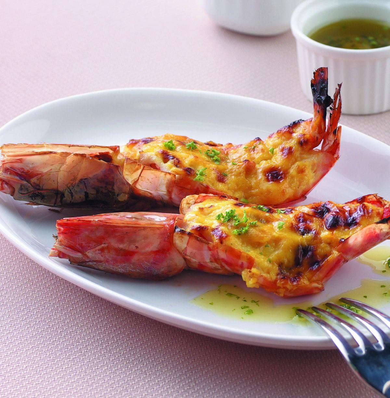 食譜:芥末焗烤明蝦