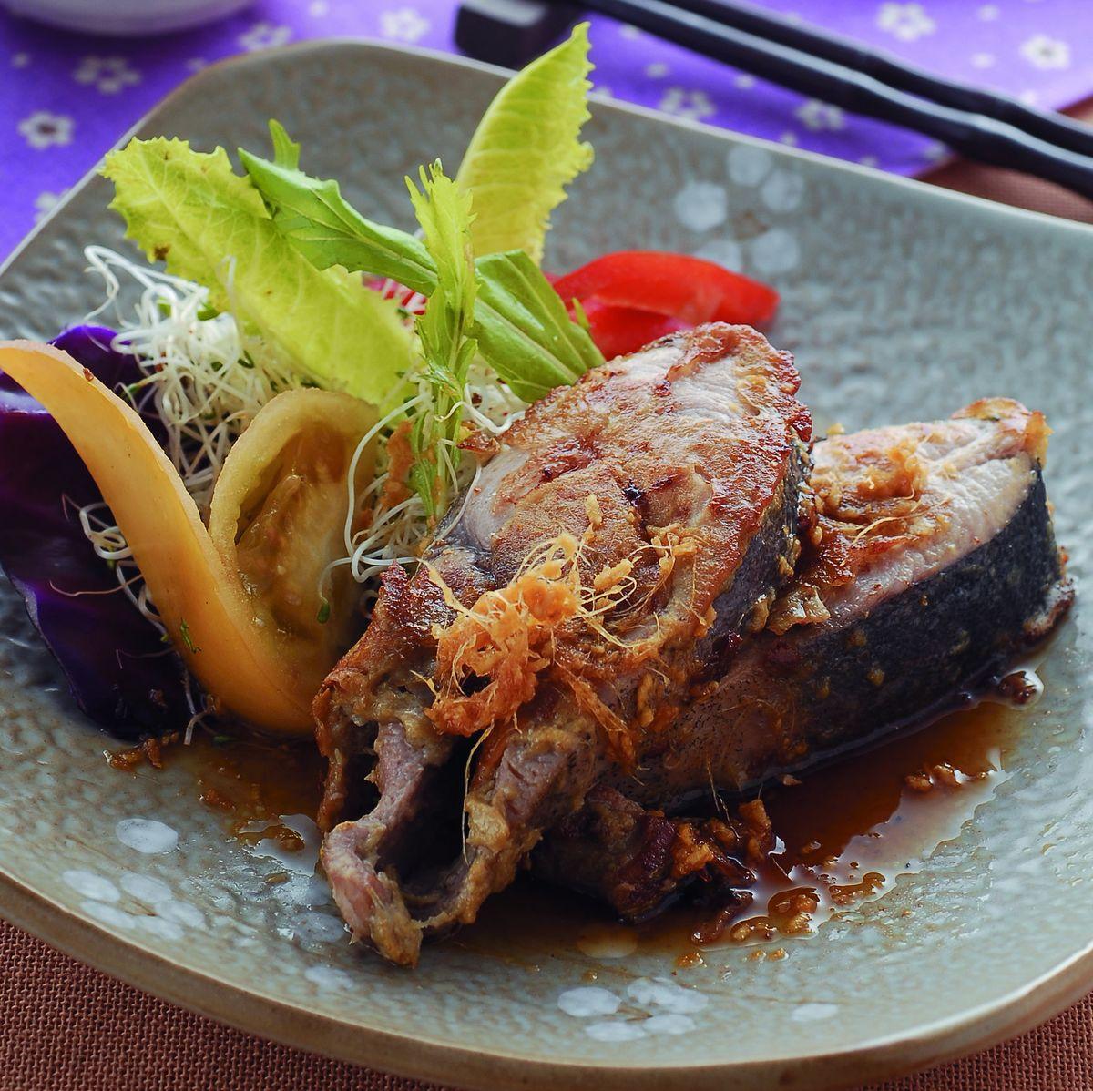 食譜:薑汁金黃魚排