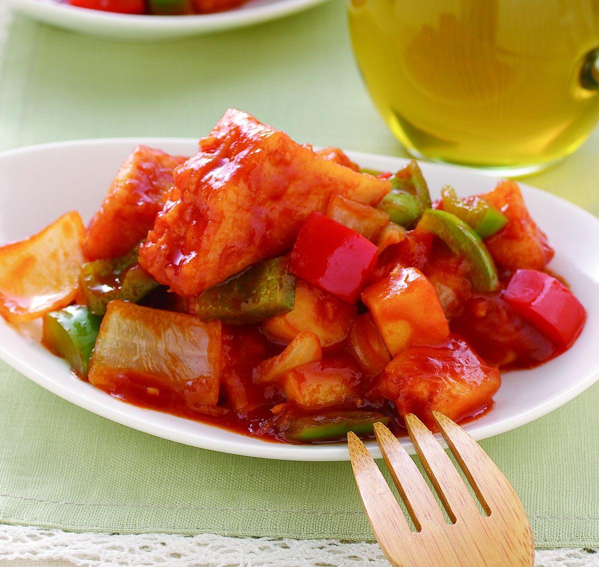 食譜:糖醋豆腐(1)
