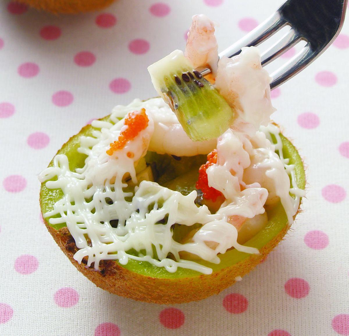 食譜:奇異沙拉蝦
