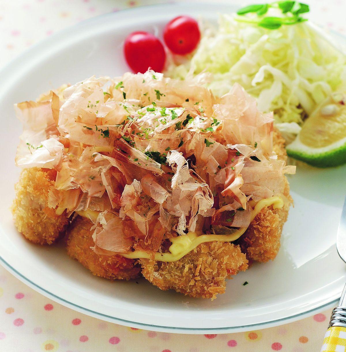 食譜:柴魚美乃滋豬排