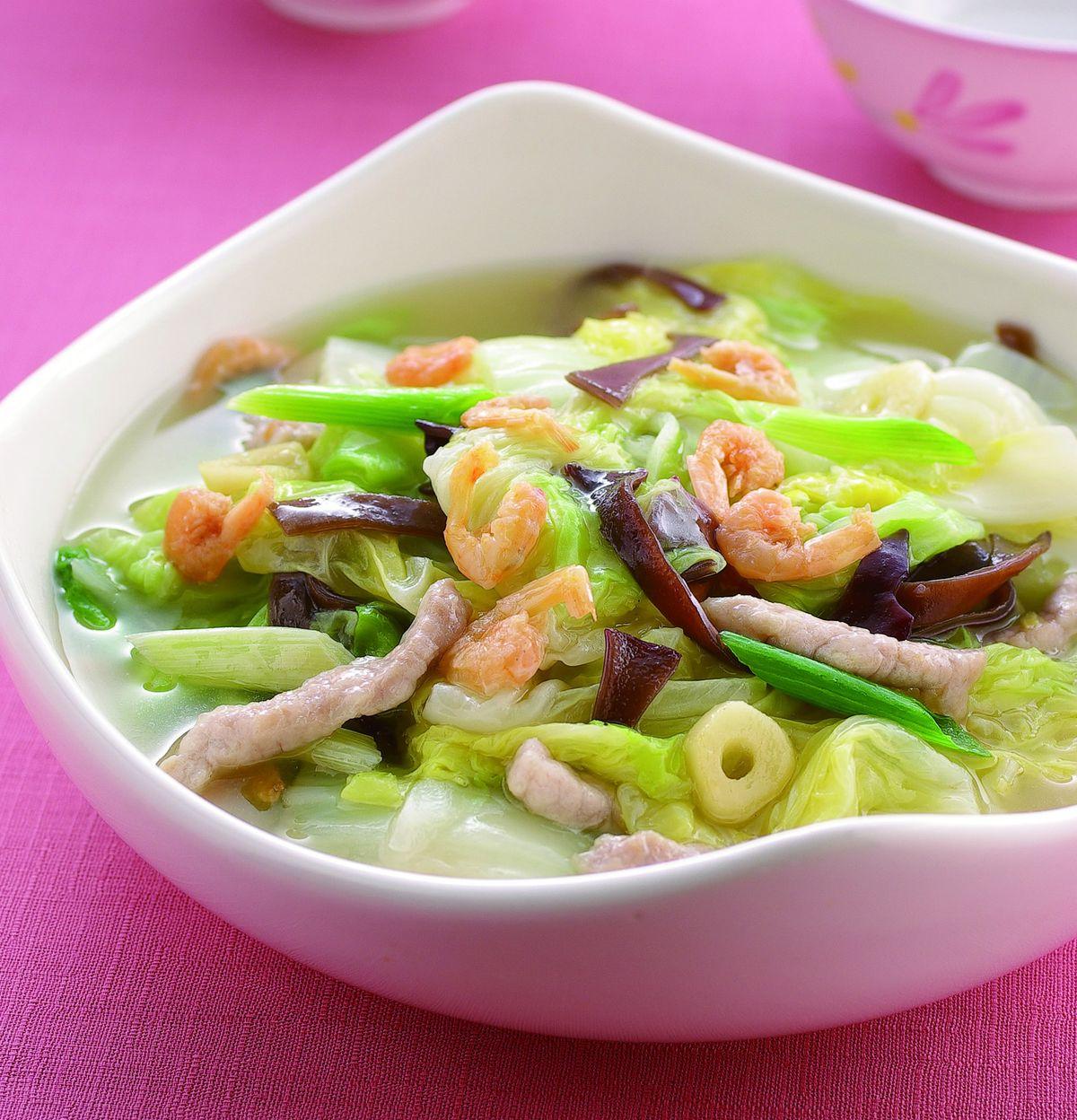 食譜:開陽炒白菜