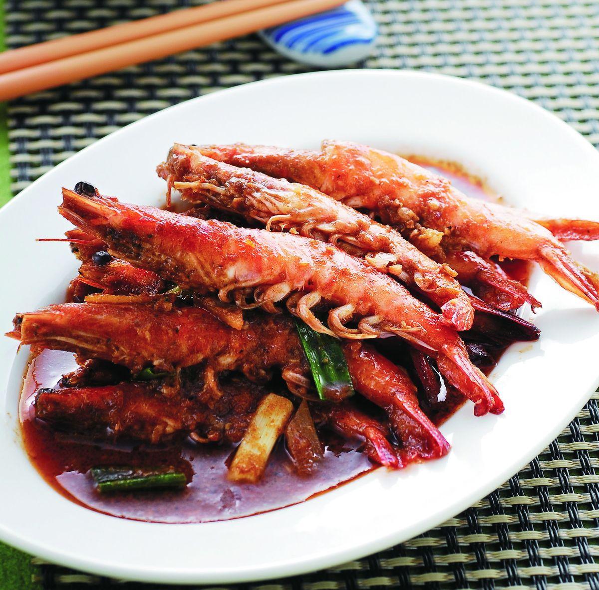 食譜:沙嗲草蝦串