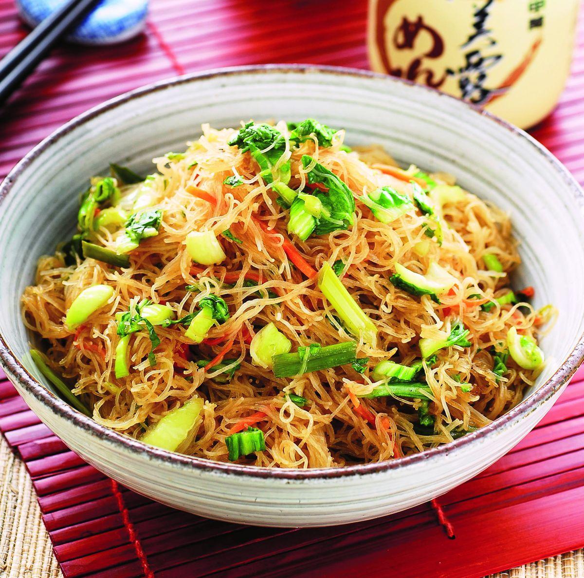 食譜:翡翠炒米粉