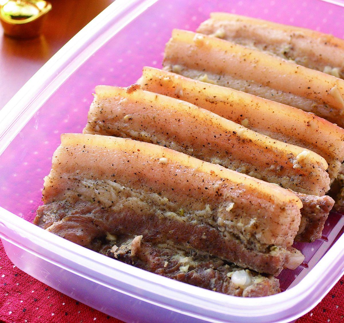 食譜:鹹豬肉(3)