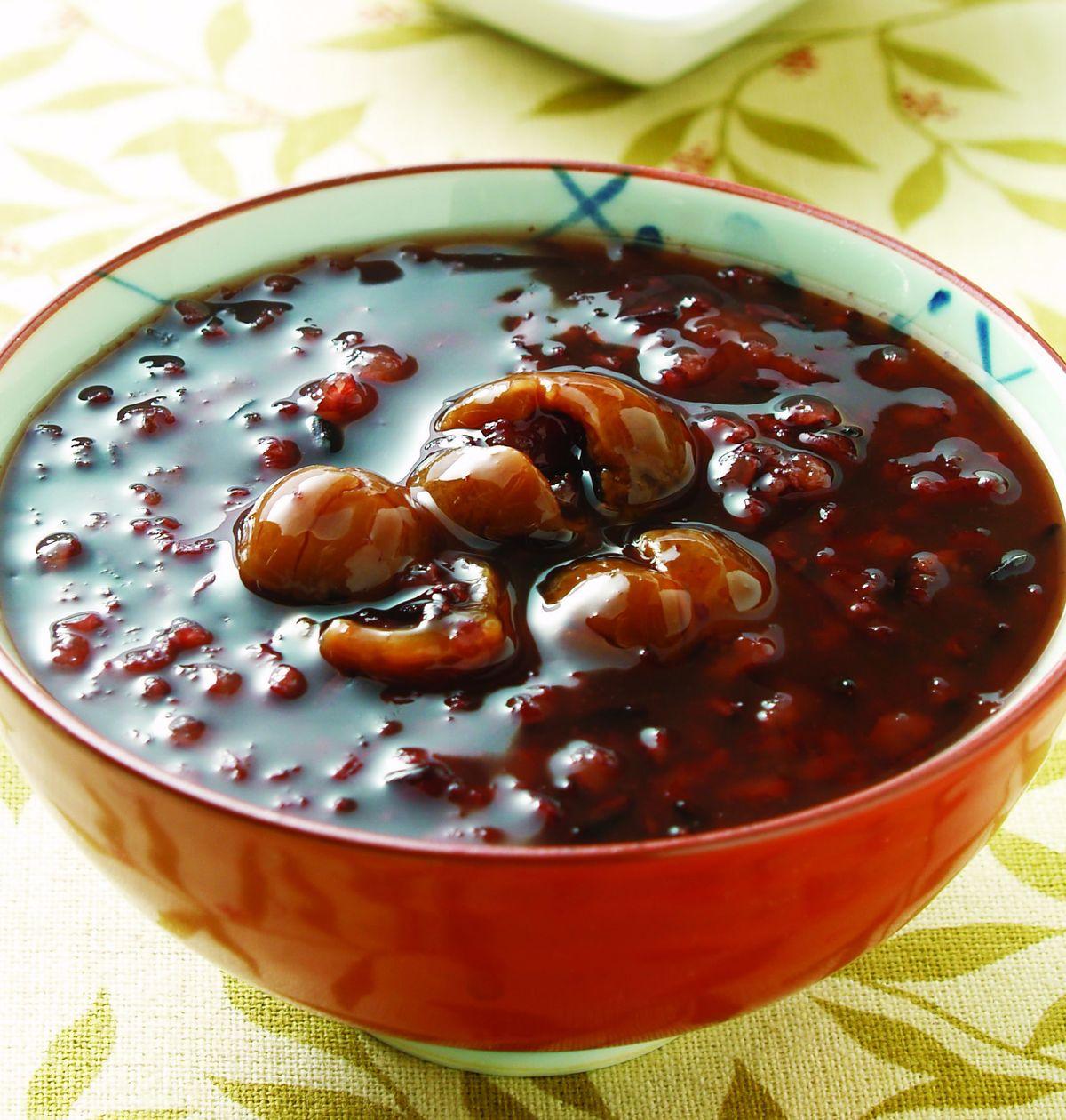 食譜:紫米桂圓粥