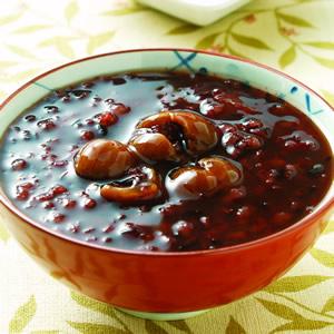 紫米桂圓粥