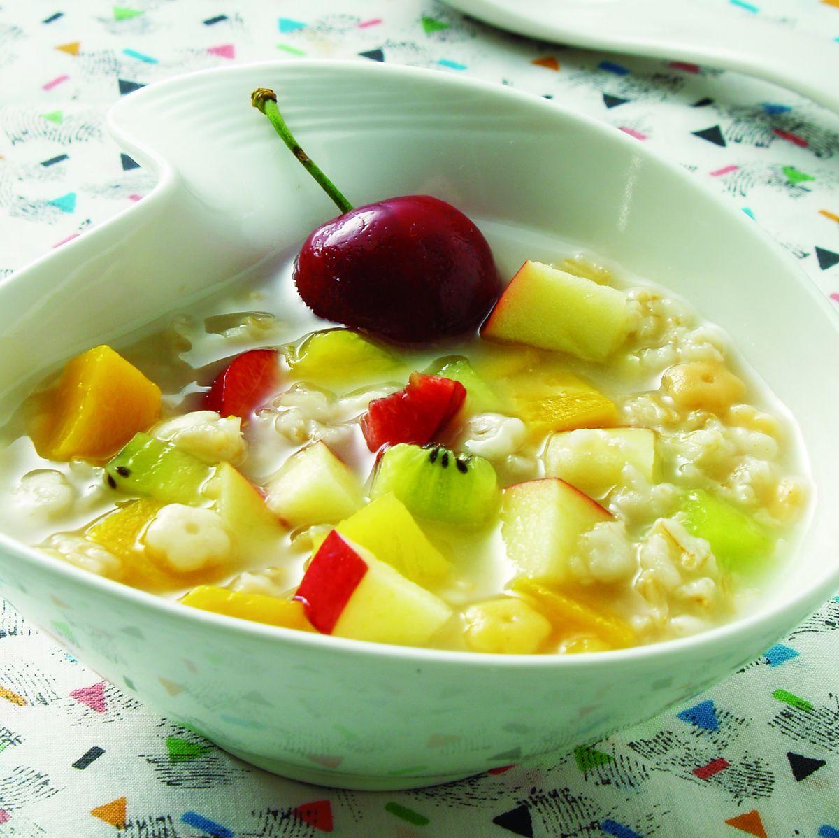 食譜:水果甜粥