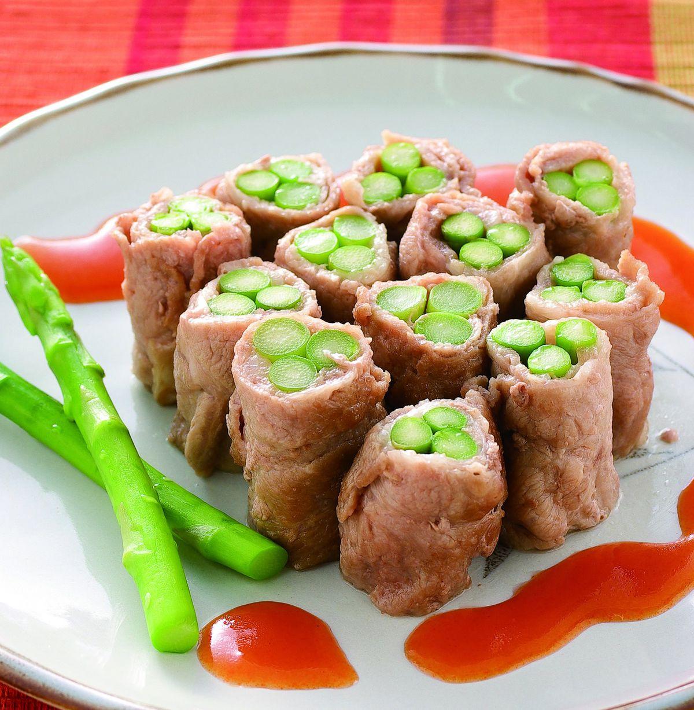食譜:青筍肉卷