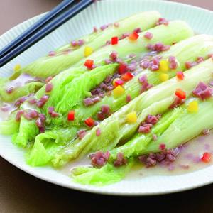 火腿燴芽菜