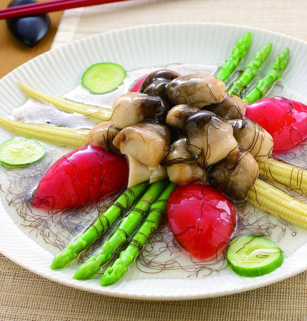 食譜:四寶鮮蔬