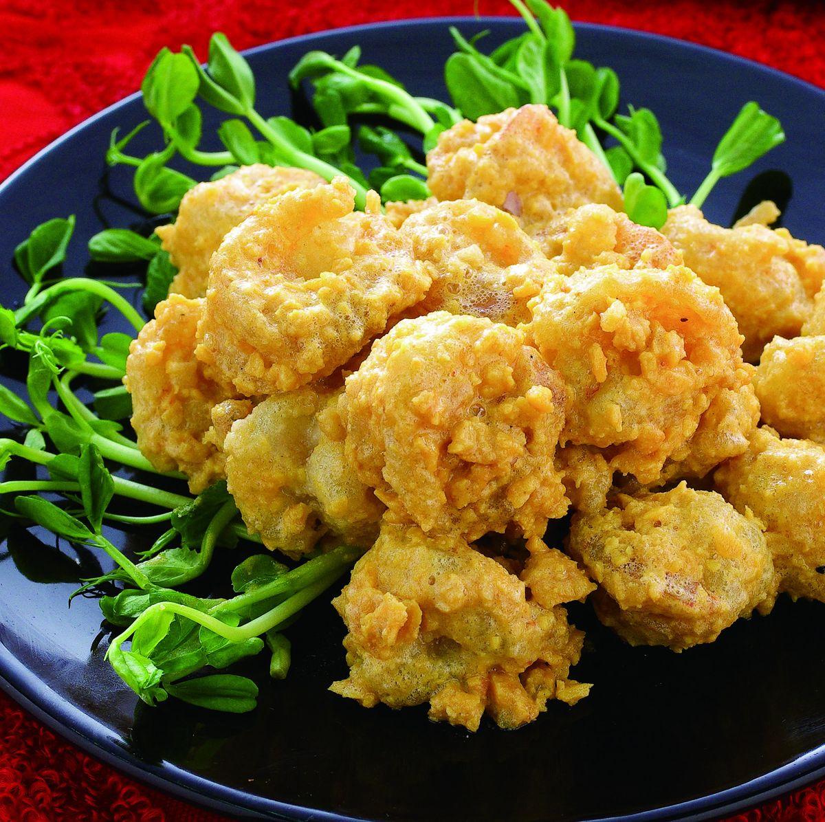 食譜:黃金蝦球(1)