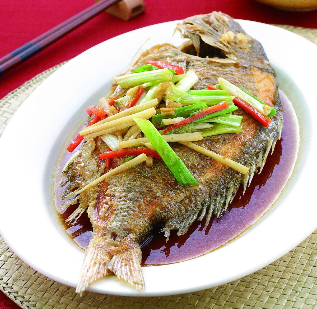 食譜:紅燒魚(7)