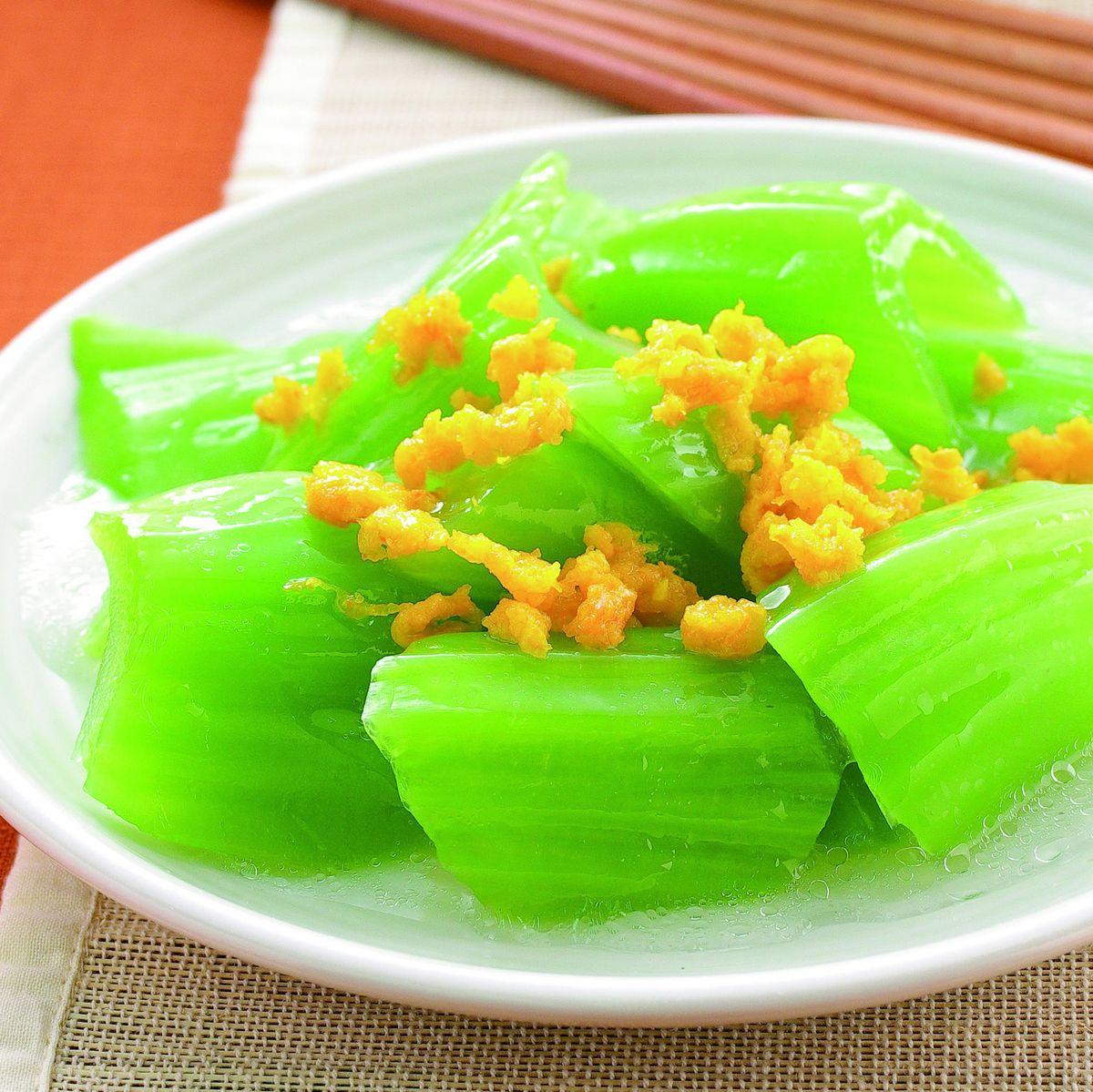 食譜:蟹黃芥菜